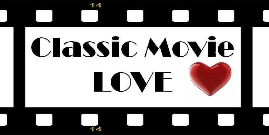 classic movie love logo